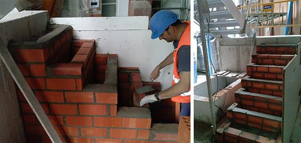 05_Desarrolla Rehabilitacion-edificio viviendas--escalera-ext_ladrillo_610px