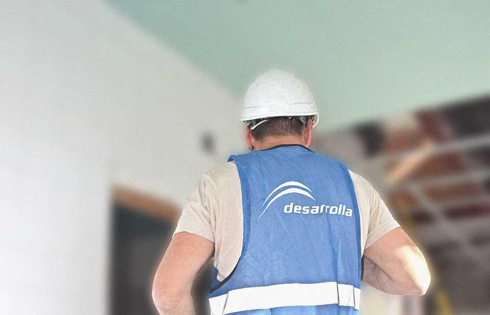 Desarrolla necesita un capataz y un ayudante de Jefe de Obra en su sede de Las Palmas
