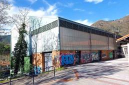 La fachada del frontón de Lasao será totalmente remodelada