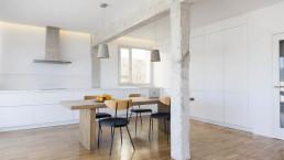 La gestión de la luz y los espacios ha sido una clave en la reforma del piso premiado con el Gran de Area