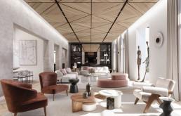 El piso del Eixample es obra de Desarrolla y LUVStudio