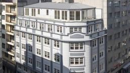Rehabilitar edificios como los de Fernando Macías es un proceso complejo