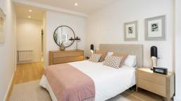 Los pisos de lujo cuentan con un dormitorio tipo suite