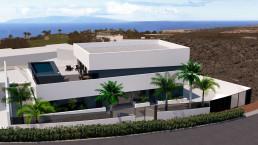 La vivienda de lujo cuenta con dos espectaculares terrazas, una de ellas de 80 metros