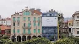 El edificio histórico de A Ferrería es uno de los más conocidos de Pontevedra