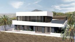 Los ventanales de la vivienda de lujo permiten aprovechar las fantásticas vistas del entorno
