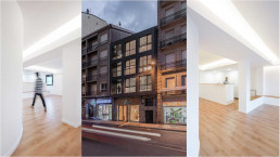 La remodelación interior se completa con la renovación de la fachada